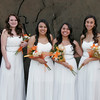 The honored guests at the 2014 Orange Blossom Festival Queen Coronation Ceremony are: (l to r) Mike & Stephanie Lenihan, Queen attendants Yazmin Arellan, Christina Castro, Rebecca Macareno, Megan Salinas, and 2014 OBF Queen Jocelyn Jauregui