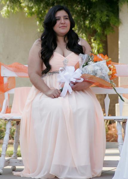 2014 Lindsay Orange Blossom Festival Queen Jocelyn Jauregui at her coronation ceremony on Saturday, April 5th.