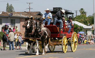 As is tradition, the Goshen Mounted Police concluded the 2014 edition of the Woodlake Lions Rodeo Parade.