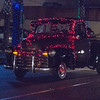 A lighted truck during the 2015 Lindsay Lighted Christmas Parade.