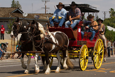 The Goshen Mounted Patrol participated in the 2015 Woodlake Lions Rodeo parade. The Mounted Patrol are long-time participants in the Woodlake parades.