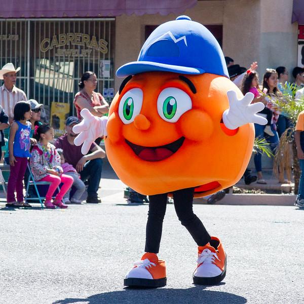 Participants in the 2016 Lindsay Orange Blossom Festival parade.