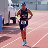 Richard Meyer of Bakersfield finishes the Olympic distance in the 3rd Annual Rocky Hill Triathlon held on Saturday, March 11, 2017.