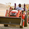 Young and old trick-or-treaters  took a hay ride throughout the Mehrtan Drive area on Sunday, October 28th.