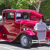 """A 1931 Ford Model """"A"""" Coupe is all shined up for the 39th Annual Downtown Visalia Car Show held Saturday, May 20th on Main St. in Visalia."""