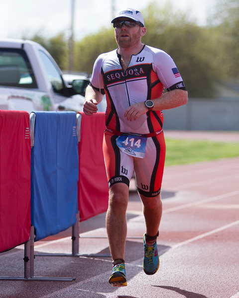 The 2016 edition of the Rocky Hill Triathlon was held on Sunday, March 6th.  Exeter's Brady Johnson finishes the Olympic distance.