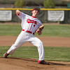 Jake Reeves made his first start at pitcher for the Lindsay Cardinals in their Thursday game against the Corcoran Panthers. Reeves went 7 innings and gave up no earned runs.