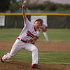 Jake Reeves, substituting for an injured Giovanni Perez, gave the Lindsay Cardinals 7 innings of strong pitching in their ESL contest against the Corcoran Panthers. Despite the strong pitching, Lindsay suffered a 5-3 extra innings loss to the Panthers.
