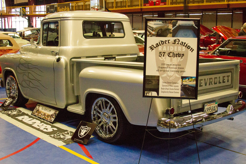 Hundreds of customized cars and trucks were on display at the 4th Annual Indoor-Outdoor Car Show held at the McDermont Field House in Lindsay.