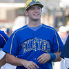 The 56th Exeter Lions East vs. West High School All-Star Baseball Game was played at Rawhide Stadium in Visalia on Saturday, June 4, 2016. Here Exeter Monarch Infielder Logan Coulter smiles to the crowd during the opening festivities.