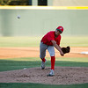 The 56th Exeter Lions East vs. West High School All-Star Baseball Game was played at Rawhide Stadium in Visalia on Saturday, June 4, 2016. Lindsay's pitching ace, Alfredo Vasquez, make a pitch early in the East vs. West All-Star Game.