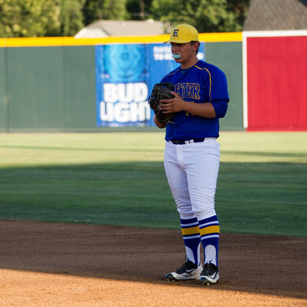 The 56th Exeter Lions East vs. West High School All-Star Baseball Game was played at Rawhide Stadium in Visalia on Saturday, June 4, 2016. Exeter all-star Tyler Rumbaugh played first base, as well as pitching two innings of the all-star game.