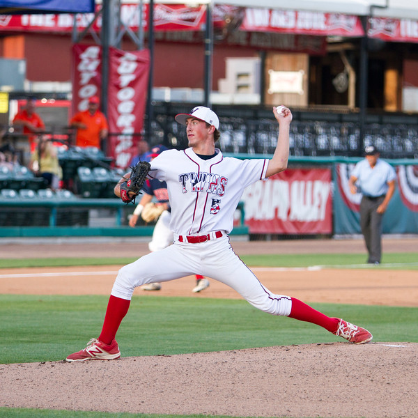 Tulare  Western's Wyatt Gilbert (5)  pitched  3 scoreless innings, including 2 strikeouts, and also had a single and a double and was named the MVP of the 57th  Annual  East West All-Star Baseball game held on June 7th at Visalia Rawhide Stadium.