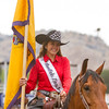 Thousands attended the 63rd edition of the Woodlake Lions Rodeo on Mothers Day weekend. 2016 Rodeo Queen, Morgan Moisi  smiles to the thousands assembled for the rodeo.