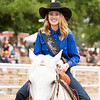 Thousands attended the 63rd edition of the Woodlake Lions Rodeo on Mothers Day weekend. Pictured, is Woodlake Rodeo Princess Emilie Albright.