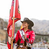 Thousands attended the 63rd edition of the Woodlake Lions Rodeo on Mothers Day weekend. 2015 Woodlake Rodeo Queen Ciera Wittig waves to the crowd during the opening festivities.