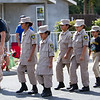 The Central Valley Cadets marched in perfect precision during the 63rd Farmersville Memorial Day Parade.