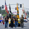 Veterans of several US conflicts led off the 63rd Farmersville Memorial  Day Parade.
