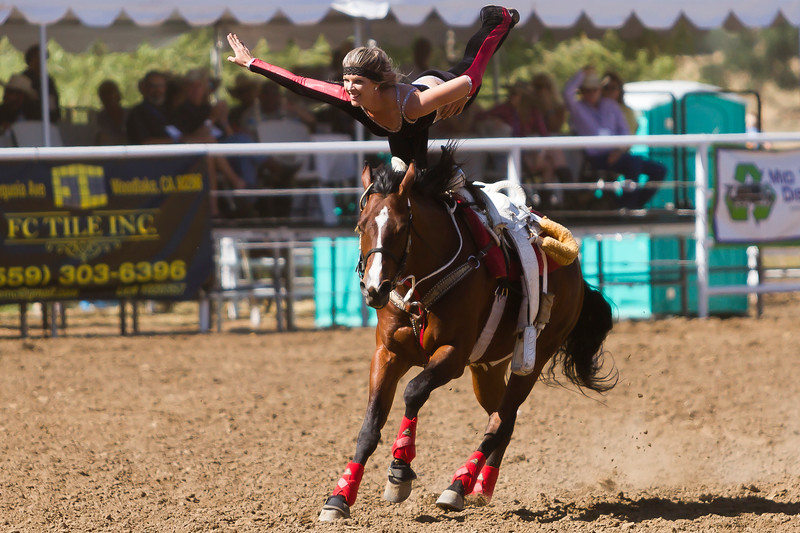 The 65th Annual Woodlake Lions Club Rodeo took place on Mother's Day weekend at the Woodlake Rodeo grounds in Elderwood. The Riata Ranch International Cowboy Girls from nearby Three Rivers have travelled the world but are always a hit at the Woodlake Lions Rodeo.