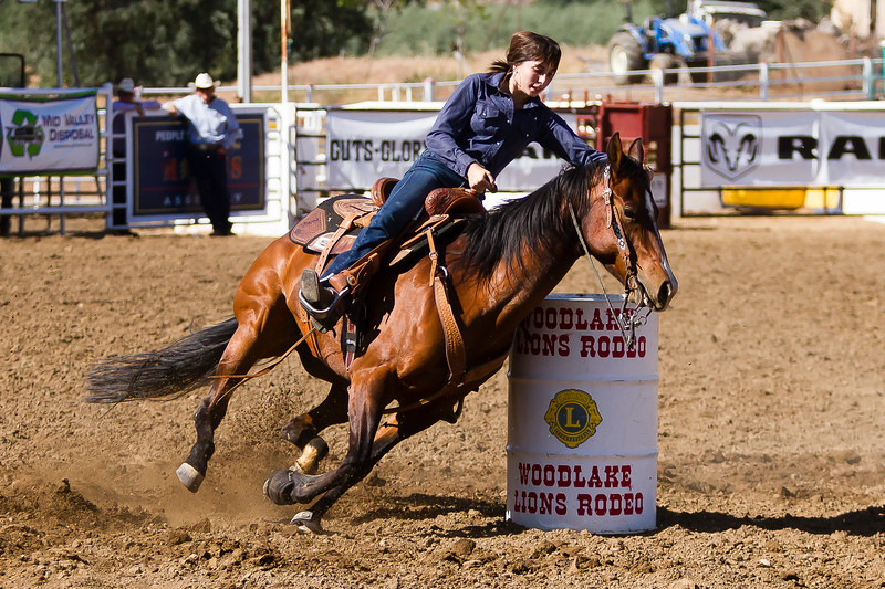 The 65th Annual Woodlake Lions Club Rodeo took place on Mother's Day weekend at the Woodlake Rodeo grounds in Elderwood.