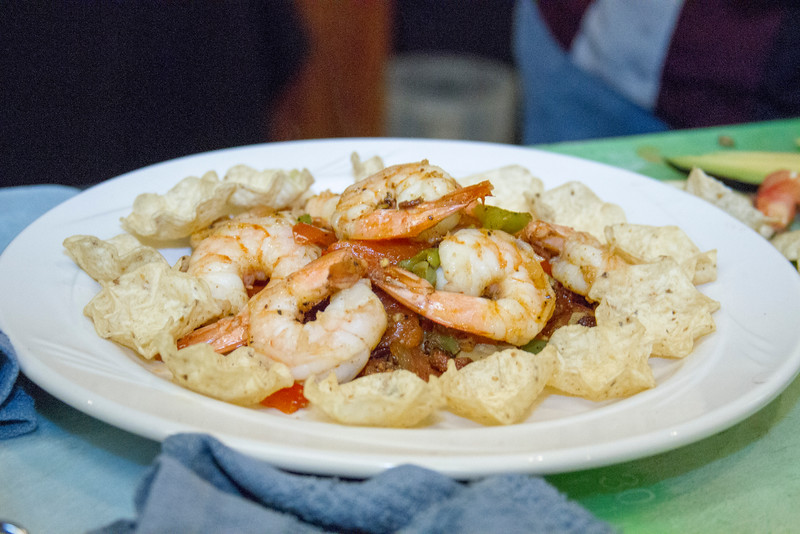 One of the shrimp dishes to be judged at the 8th Annual Visalia Rescue Mission Food Fight for Families held at the Wyndham Hotel on Sunday, July 17th.