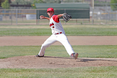 Lindsay Cardinal pitcher Julian Gonzalez threw a three-hitter complete game against league leading Corcoran Panthers on May 2, 2013.