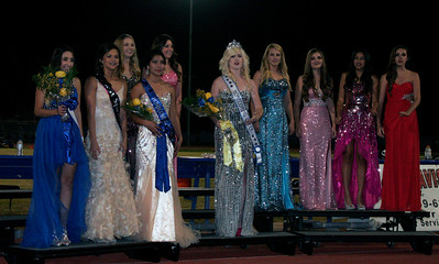 2013 Exeter High School Homecoming Queen Court: Hannah Estep, Sarah Olivos, Cecelia Ramos, Amber Hayter, Jaque Hutchenson, Chelsea Larson (Homecoming Queen), Audery Miller, Kaylee Brooks, Brooke Coates, Ally Navarro. - not in order.