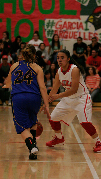 Lindsay Cardinal Christina Castro carried her team to the CIF Central Section Division final with 28 points in a 60-34 win.