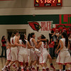 The Lindsay High School Cardinals celebrate their 60-34 victory over Exeter High to advance to the CIF Central Section Division IV Final at Selland Arena on Saturday, March 8th.