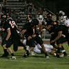 Woodlake Tiger Elijah Cunningham (1) rushed for 290 yards on 39 carries on Friday, September 13, 2013.