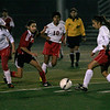 Linsday Girl's soccer played to a 4-4 stand-off against Fowler on Thursday, December 12th.