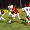 Lindsay Cardinal RB Daniel Trujillo run for one of his 4 touchdowns in Lindsay's 41-20 victory over Fowler.