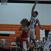Lindsay's Izaiah Diaz (24) goes for a lay up in the 3rd place game of the Frank Ainley Christmas Invitational. The suffered a heartbreaking 67-65 loss to the Tranquillity Tigers to finish the tournament in 4th place.