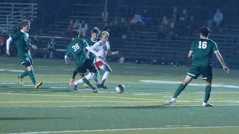 Lindsay defeated Garces Memorial 2-0 in CIF Division IV playoff action to advance to the quarterfinals against the Delano Tigers. Although Garces always had several defenders near the ball, Lindsay utilized their speed to their advantage.