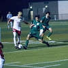 Lindsay defeated Garces Memorial 2-0 in CIF Division IV playoff action to advance to the quarterfinals against the Delano Tigers. Garces MF Andres Ornelas (36) attempts to steal the ball from Cardinal Kevin Ceballos (10).