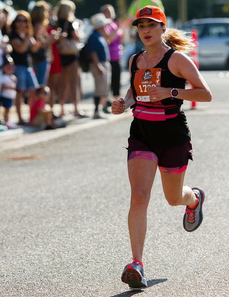 Gabriela Zamora, from Tulare,  was the female winner of the Hell of a Half Marathon in a time of 1:36:37. The Hell of a Half Marathon is held annually in Exeter.