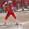 Lindsay Cardinal Marissa Knutson (1) hit a double to lead off the 8th inning and scored the winning run against Immanuel in their opening round playoff contest.