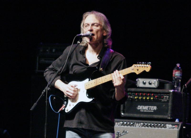 Guitarist Sonny Landreth rocks at the Visalia Fox Theater on Saturday.