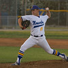 Exeter Monarch pitcher Tyler Rumbaugh threw 4 innings against the Kingsburg Vikings to secure a 3-0 win. Rumbaugh improved his record to 7 wins and 3 losses with a 1.67 ERA.