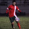 The Lindsay Cardinals defeated the host Farmersville Aztecs 1-0 on December 18th. Cardinal Jonathon Gutierrez scored the lone goal on a penalty kick.