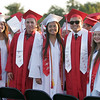 The graduates were all smiles at the Lindsay High Graduation Ceremony on Friday, June 13, 2014.