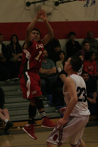 The Lindsay Cardinals defeated the Strathmore Spartans 80-48 on Friday.