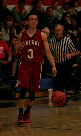 Cardinal guard Gavin Mann scored 20 points in Lindsay's 80-48 victory over Strathmore on Friday.