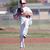 Woodlake Tiger pitcher Josh Bergdoll.