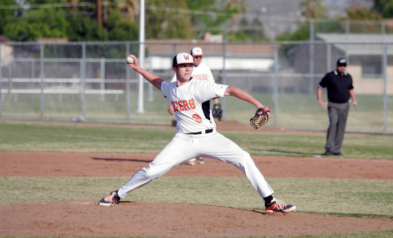 Woodlake Tiger pitcher Josh Bergdoll picked up another win on April 4th.