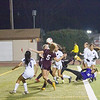 The Tulare Union Tribe attacked the Madera South Stallion goal early and often in their 6-0 playoff win.