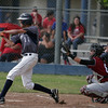 Farmersville Aztecs OF Greg Torres was 1-3, with 2 RBIs in the Aztec's 14-2 win over the Orosi Cardinals on Tuesday, May 20, 2014.