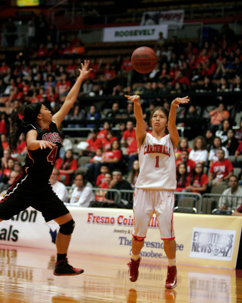 Lindsay Cardinal G  Destiny Garcia finished the CIF Central Section Division IV final contest against Orosi with 18 points and 8 rebounds. Lindsay prevailed over Orosi 50-38 to advance to the SoCal Regional Basketball State Playoffs.