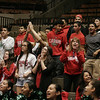 Lindsay Cardinal faithful give the team a standing ovation in the final minutes of the Cardinal's 50-38 CIF Central Section Final win.