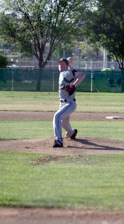 Sierra Pacifc pitcher Matthew Leslie against Lindsay 4-9-13.